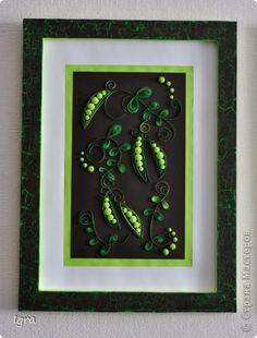 Slikarstvo paneli obrazac nabran porub zelene naglasci za unutarnjim panela serije Sat fotopapir 2