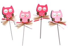 Items similar to Woodland Girl Owl Animal Themed Party Centerpiece Sticks Set of 4 Birthday Party on Etsy Owl Party Decorations, Party Centerpieces, Party Themes, 4th Birthday Parties, Baby Birthday, Owl Animal, Adoption Party, Owl Pet, Forest Animals