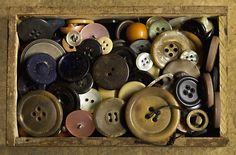 #vintage #buttons #sewing