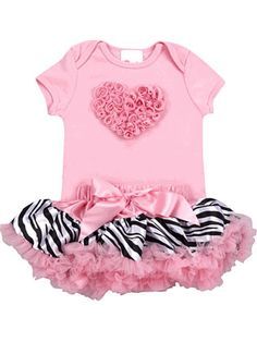 pink zebra love  The bottom is similar to what I just got for Chloe - except hers is hot pink :)