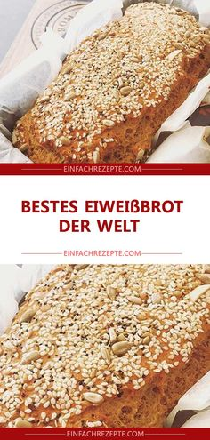Bestes Eiweißbrot der Welt Best protein bread in the world Protein Desserts, Protein Foods, Healthy Dessert Recipes, Cake Recipes, Vegan Recipes, Banana Bread Easy Moist, Banana Bread Recipes, Banana Bread Brownies, Law Carb