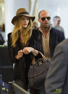 """Heh! """"Rosie accessorized with Chanel ...while Jason accessorized with Rosie"""""""