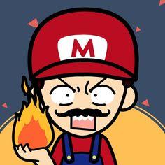 Mario is crazy