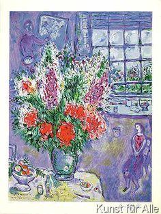 Marc Chagall - Selbstportrait steinsig.
