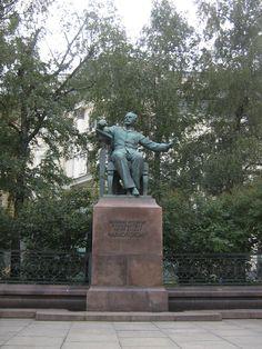 Pëtr Il'ič Čajkovskij - Nikitkaja ul., Mosca