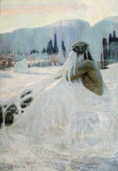 Le Prince Lointain: Jaroslav Špillar (1869–1917), Vodník v zimě - 1899...