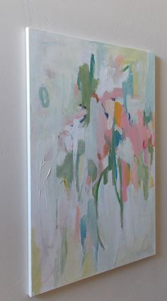 original abstract painting pamela munger by pamelam on Etsy