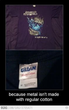 Because normal cotton is too mainstream