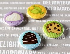 New Product, Product Launch, Cupcake Collection, Scrap, Buttons, Eat, Desserts, Inspiration, Food