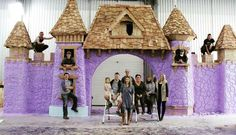 Playhouse Masters Premier Viewing Party and Open House at Charmed . Fairy Houses, Dog Houses, Play Houses, Wood Playhouse, Playhouse Plans, Luxury Playhouses, Reality Tv Stars, Cozy Fireplace, Family Adventure