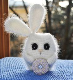 Crochet bunny pattern #amigurumi #amigurumidoll #amigurumipattern #amigurumitoy #amigurumiaddict #crochet #crocheting #crochetpattern #pattern #patternsforcrochet