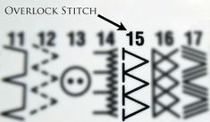 Basics: The Secret Overlock Stitch | Yesterday's Thimble