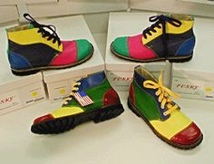 Funky Clown Shoes