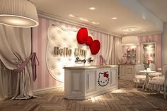 World's First Hello Kitty Beauty Spa via @Incredible Things. Who is going to take me to Dubai?