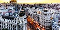 If you only get a chance to visit one city in Spain, Madrid should be at the top of your list. Since Madrid has been the capital of this fasc. Happy City, European City Breaks, Belle Villa, Sitges, Best Cities, Spain Travel, Day Tours, Aerial View, Travel Guides