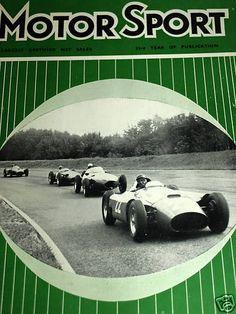 ITALIAN GRAND PRIX 1956 STIRLING MOSS MASERATI 250 PETER COLLINS LANCIA FERRARI Maserati, Ferrari, Italian Grand Prix, Stirling, Celebration, Racing, Car, Running, Automobile