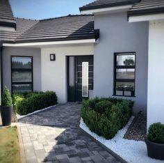 Best Indoor Garden Ideas for 2020 - Modern Bungalow House Design, House Front Design, Modern House Design, Modern Entrance Door, House Entrance, Dream Home Design, My Dream Home, Burbank Homes, House Design Pictures