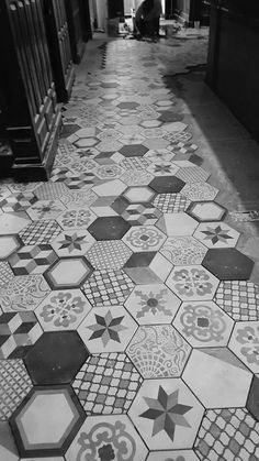 Bar area renovation with @marcacorona #Hexagon #Tiles Terra collection mix decors @Kanella greek restaurant in Philadelphia (USA)