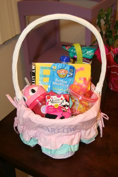 Easter basket for a one year old holidays pinterest easter what to put in a 2 year old girls easter basket negle Choice Image