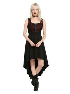 4e02b7172db Omg. This dress! Hot Topic Dresses