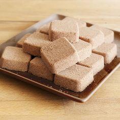 Chocolate Polvoron / Filipino Powdered Milk Candy Recipe (Lardon My French) | Used Wilton Brownie Pops 24-Cavity Silicone Mold