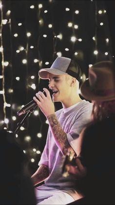 Justin Bieber, my idol and my inspiration. I really like Justin and his music. Because I think that behing all his songs there is a lesson. And I will even go to his concert at October
