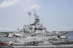 Battleship Cove, Fall River Ma. Many school field trips and family trips to see the USS Massachusetts and her 16inch guns! Plus the PT 109  last commanded by Lieutenant, junior grade (LTJG) John F. Kennedy (later President of the United States). There is also a submarine tour! Nice...