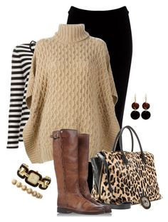 Stripes & Tan by fashionista88 on Polyvore featuring polyvore, fashion, style, MICHAEL Michael Kors, Sonia by Sonia Rykiel, Warehouse, Golden Goose, Miu Miu, Michael Kors, Manumit, Wet Seal, Topshop and clothing
