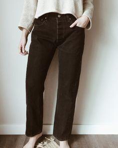Vintage Levi's 501 Black Denim - Size 29