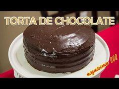 Cómo hacer un Bizcocho de Chocolate Húmedo Fácil y rápido - Receta básica - YouTube