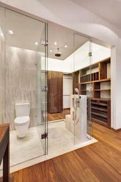 moderne Badezimmer von Lopez Duplan Arquitectos