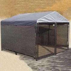 Dog Windscreen-Shade Kit for Side of Dog Kennel Pet Winter Outdoor Weather Cover