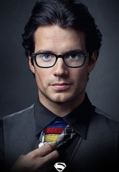 He is the most beautiful Superman in the world!