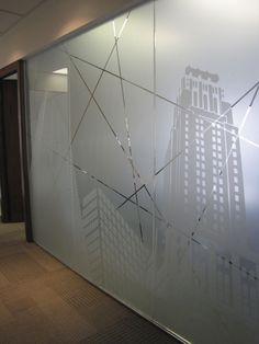 56 best glass film signage images design offices office rh pinterest com