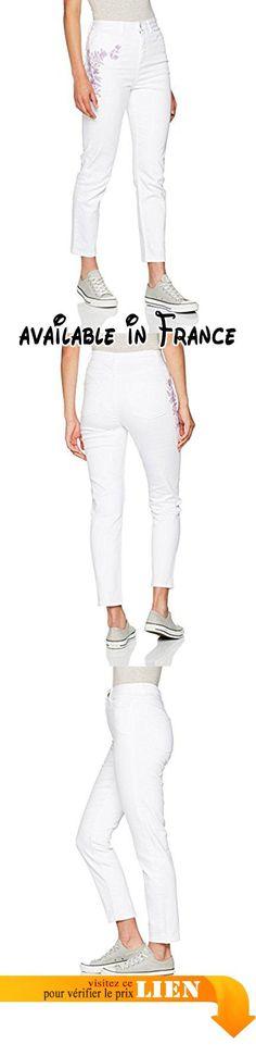 MISS SELFRIDGE Embroidered Mom, Jeans Boyfriend Femme, Blanc, W32/L32.  #Apparel #PANTS