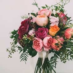 This pretty bouquet is giving us all the floral feels.