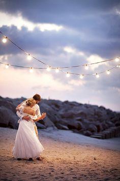 Love this shot - beach wedding | Tumblr