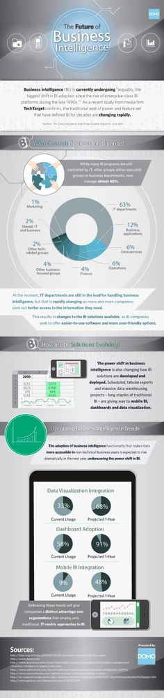 The future of business intelligence: data visualization (infographic)