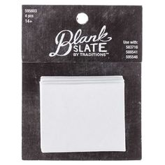 """Accessorize your style with your own fun and pretty jewelry creations! These White Paintable Rectangle Canvas Inserts are the perfect blank slate for your personality and creativity to shine.    Make your mark on fashion and create a jewelry piece that is as unique as you!        Dimensions:      Length: 1 15/16""""    Width: 1 1/2""""    Depth: 1/8""""          Each package includes 4 blank canvases."""