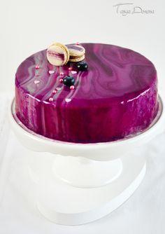 Bakery Kitchen, Galaxy Cake, Bulgarian Recipes, Homemade Cake Recipes, Baking Recipes, Blueberry Cake, Cake Videos, Mousse Cake, Creative Cakes