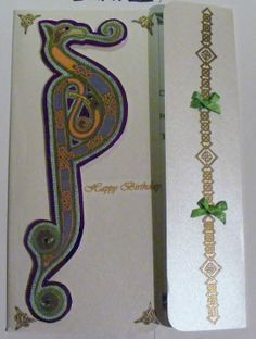 Handmade Celtic Card. Happy Birthday