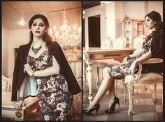 Lilit M. - H&M Jaket, Zara Dress, Carlo Pazolini Shoes - Serious person