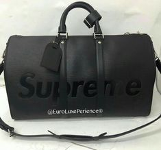 ae6c3dc300 Louis Vuitton Supreme Keepall Handbags On Sale, Purses And Handbags, Best  Handbags, Louis
