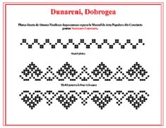 sezatoare constanta – Page 2 – Sezatoare Constanta Folk Embroidery, Embroidery Stitches, Stitch 2, Cross Stitch, Stitch Design, Hand Stitching, Needlepoint, Crochet Patterns, Sewing