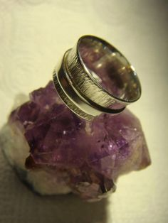 Anillo de Plata Anti-Stress