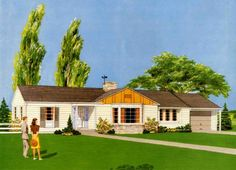 curb appeal to your 40s, 50s or 60s house — Retro Renovation