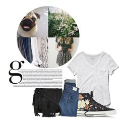 fringe style by only-1d on Polyvore featuring polyvore, fashion, style, Abercrombie & Fitch, AG Adriano Goldschmied, Converse, Proenza Schouler, Edition and fringebag