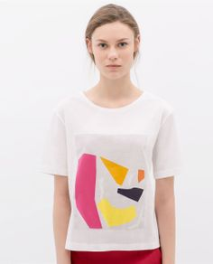 ZARA - NEW THIS WEEK - PRINTED T-SHIRT