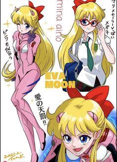 Sailor Moons, Sailor Venus, Sailor Scouts, Princess Zelda, Anime, Fictional Characters, Crossover, Twitter, Beauty