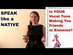 Speak Like a NATIVE Series: Vocal Tone - YouTube